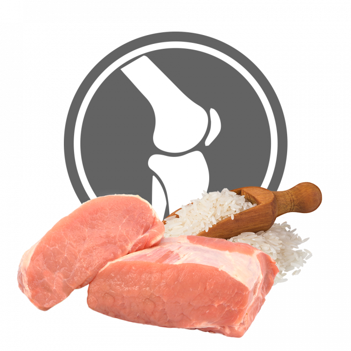 EXCLUSION VETERINARY DIET MOBILITY PORK & RICE 12KG