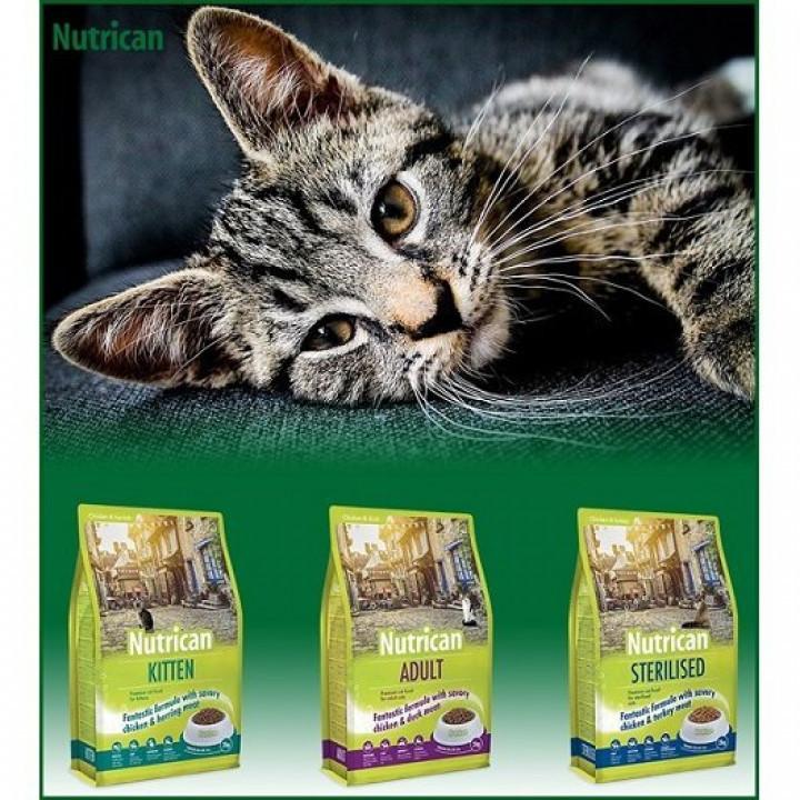 NUTRICAN CAT STERILISED CHICKEN 6KG