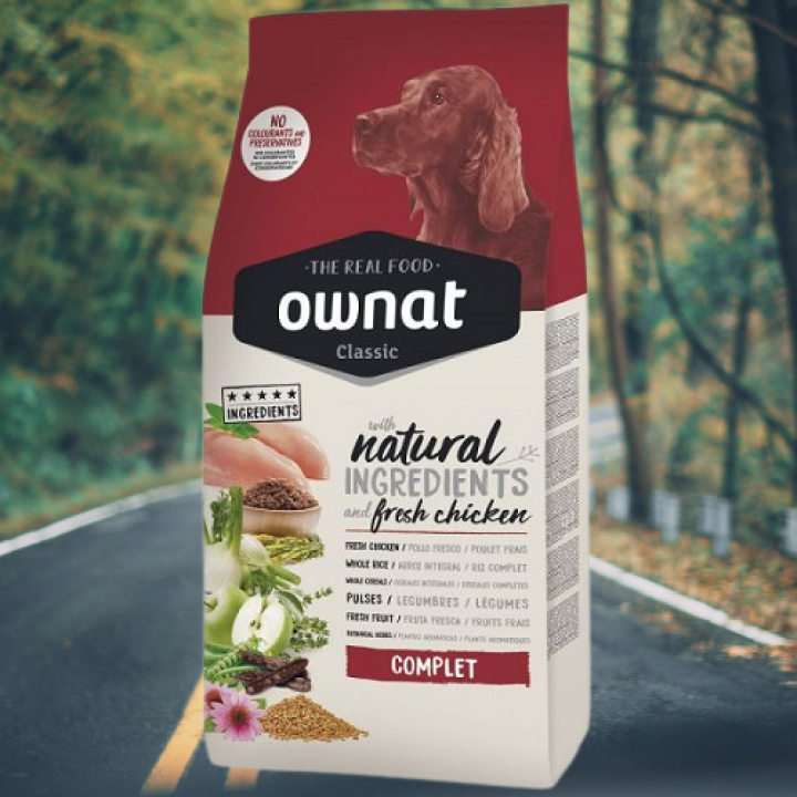 OWNAT CLASSIC COMPLET FRESH CHICKEN 15KG